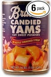 Sweet Potatoe Canned yams